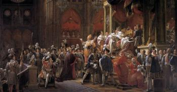 Francois Gerard : The Coronation Of Charles