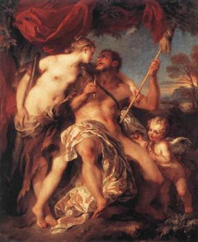 Francois Lemoyne : Hercules And Omphale