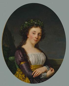 Francois-Xavier Fabre : Portrait of Madame Joubert