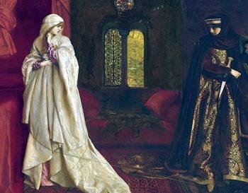 Frank Cadogan Cowper : Fair Rosamund and Eleanor