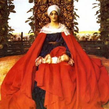 Frank Cadogan Cowper : Our Lady of the Fruits of the Earth