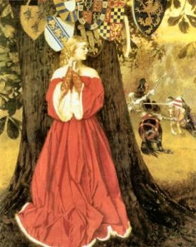 Frank Cadogan Cowper : Lancelot Slays the Caitiff Knight Sir Tarquin