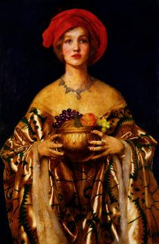 Frank Cadogan Cowper : The Golden Bowl