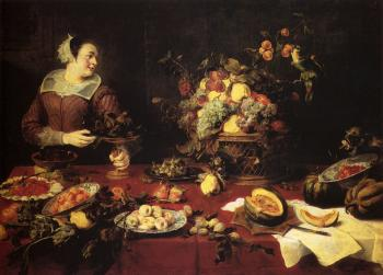 Frans Snyders : The Basket Of Fruit