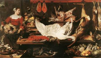 Frans Snyders : The Pantry