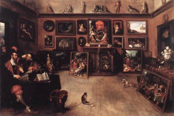 Frans The Younger Francken : An Antique Dealers Gallery