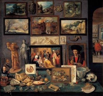 Frans The Younger Francken : art room