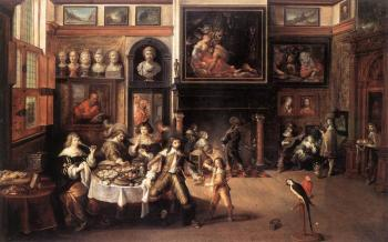 Frans The Younger Francken : Supper At The House Of Burgomaster Rockox