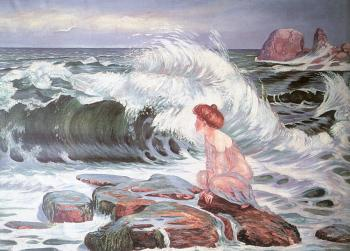 Frantisek Kupka : The Wave