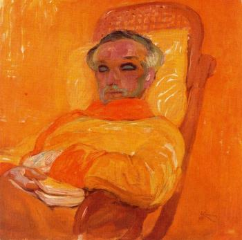 Frantisek Kupka : Yellow Spectrum