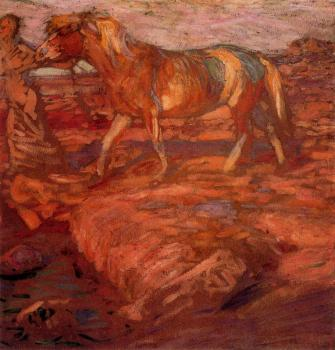 Frantisek Kupka : Woman and horse