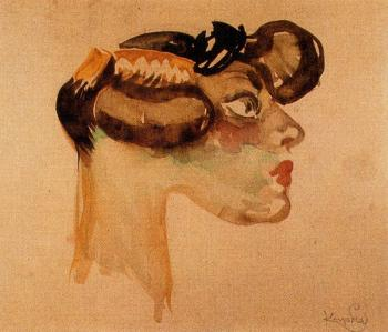 Frantisek Kupka : Head of slut