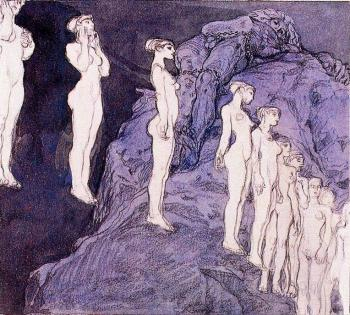 Frantisek Kupka : Prometheus in chains