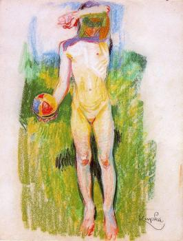 Frantisek Kupka : Girl with a Ball