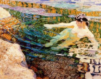 Frantisek Kupka : Water. The Bather