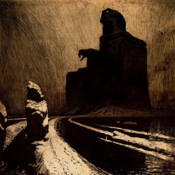 Frantisek Kupka : The Black Idol (Resistance)