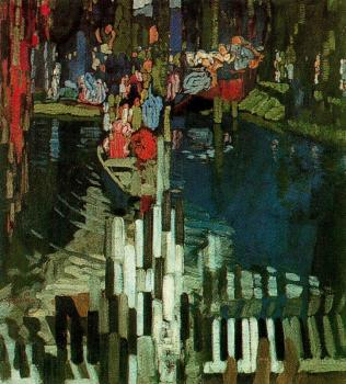 Frantisek Kupka : Piano Keys Lake