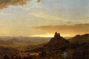 Frederic Edwin Church : Cross in the Wilderness