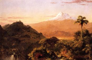 Frederic Edwin Church : South American Landscape