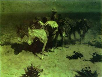 Frederic Remington : A Pack Train