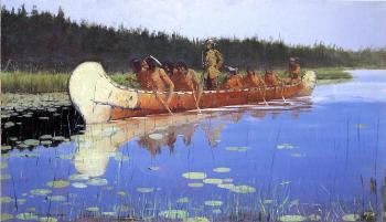 Frederic Remington : Radisson and Groseilliers