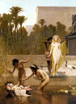 Frederick Goodall : The Finding Of Moses
