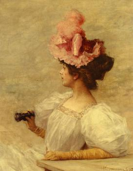 Woman With Opera Glasses