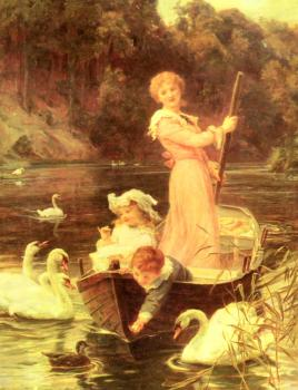 Frederick Morgan : A Day On The River