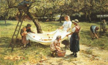 Frederick Morgan : An Apple gathering