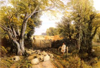 Hulme Frederick William Landscape In Wales