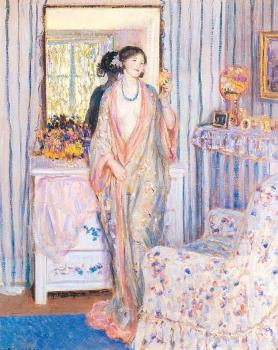 Frederick Carl Frieseke : The Robe