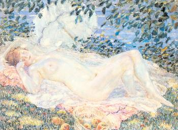 Frederick Carl Frieseke : Autumn