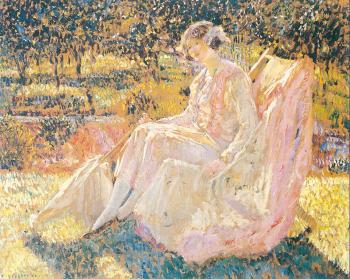Frederick Carl Frieseke : Sunbath
