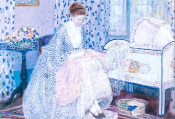 Frederick Carl Frieseke : Peace