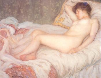 Frederick Carl Frieseke : Sleep