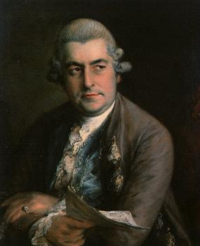 Thomas Gainsborough : Johann Christian Bach