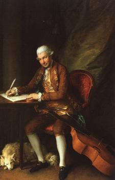 Thomas Gainsborough : Karl Friedrich Abel
