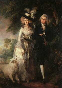 Mr and Mrs William Hallett (The Morning Walk)