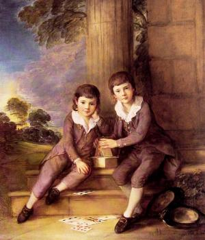 Thomas Gainsborough : John and Henry Trueman Villebois