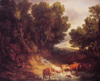 Thomas Gainsborough : The Watering Place