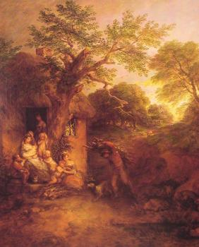Thomas Gainsborough : The Woodcutters' Return