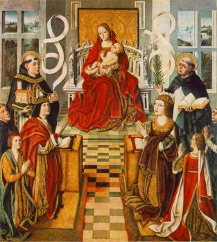 Fernando Gallego : Madonna of the Catholic Kings