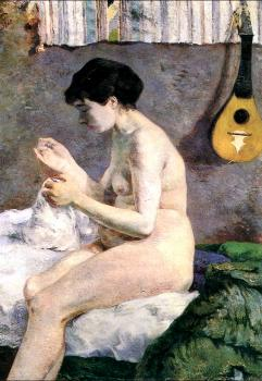 Paul Gauguin : Study of a Nude