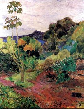 Paul Gauguin : Martinique Landscape