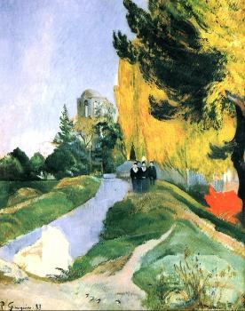 Paul Gauguin : Les Alyscamps