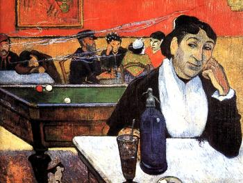 Paul Gauguin : Night Cafe At Arles