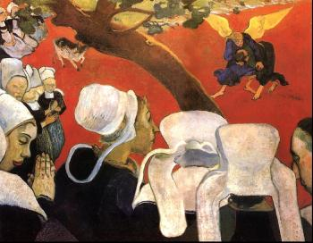 Paul Gauguin : The Vision After the Sermon
