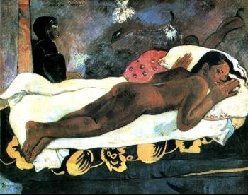 Paul Gauguin : The Spectre Watches Her