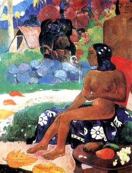 Paul Gauguin : Her Name is Vairaumati