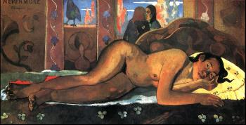 Paul Gauguin : Nevermore